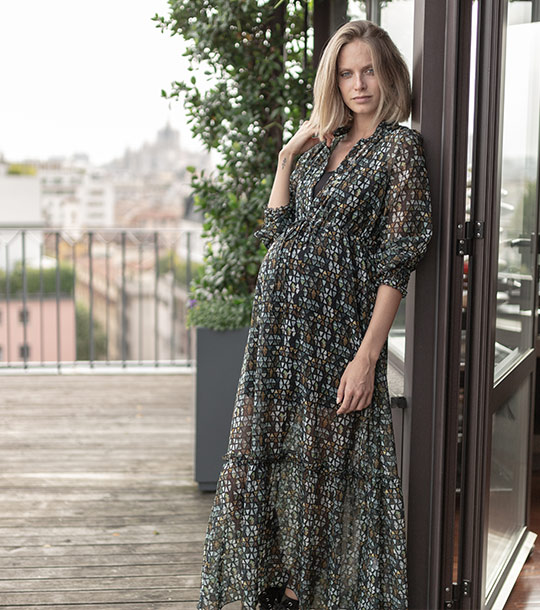 Nicol Caramel Maternity Wear Fall Winter 2019