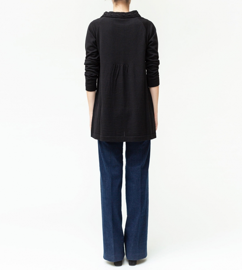 Jeans premaman larghi in tessuto stretch Nicol Caramel Milano