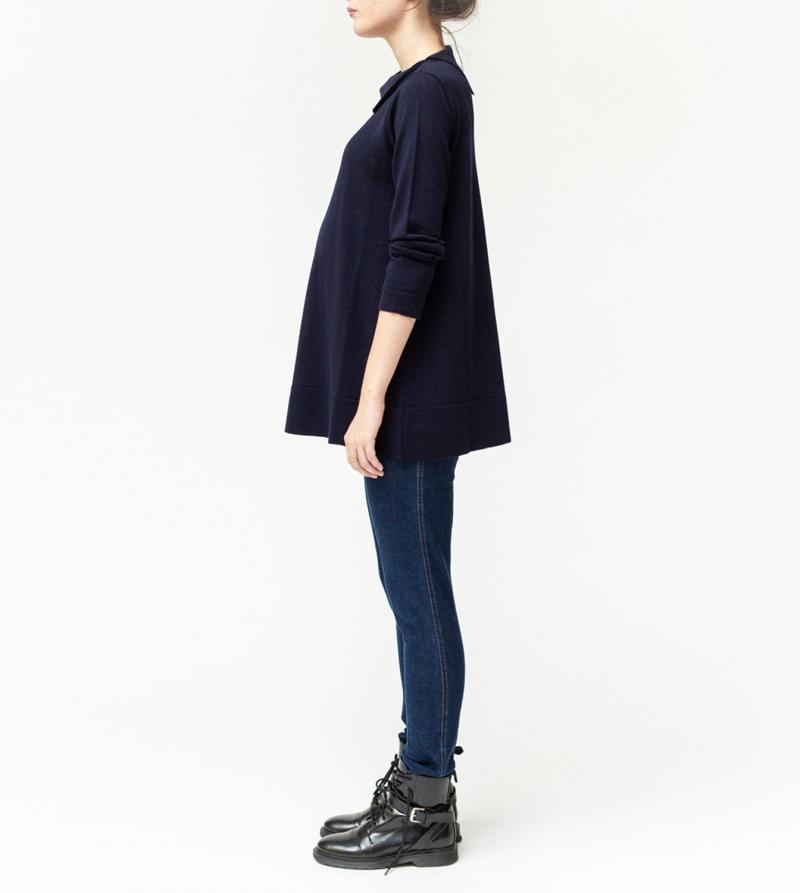 Jeans premaman skinny vita alta Nicol Caramel Milano