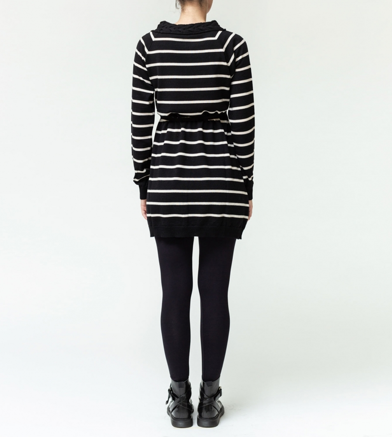 Mini abito premaman in pura lana merino Nicol Caramel Milano