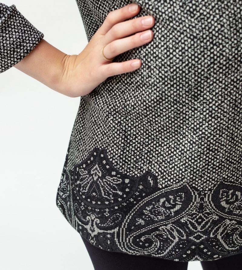 Mini abito premaman in tessuto maglia Nicol Caramel Milano