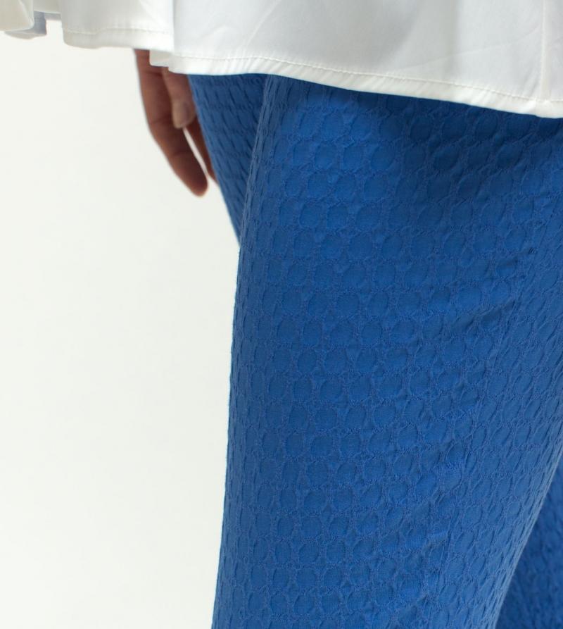 Pantalone Premaman Bluette Piquè Stretch Nicol Caramel Milano