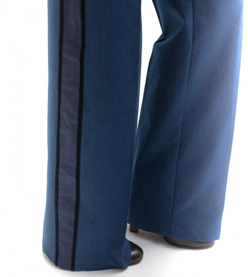 jeans premaman palazzo a vita alta - nicol caramel milano 04