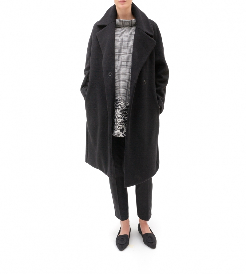 Cappotto in lana - Nicol Caramel Milano